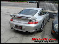 gt2 add-on wing silver